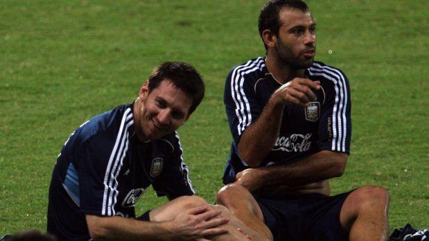 "Mascherano: ""Imposible que Argentina no sea Messidependiente"". June 03, 2014"