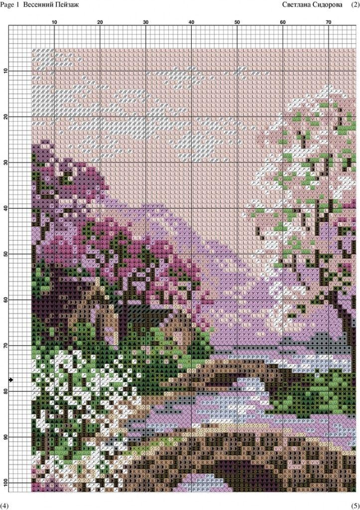 Весенний Пейзаж -001