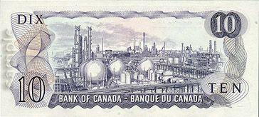$ 10 billet canadien / Canadian $ 10 Bill (2/2)