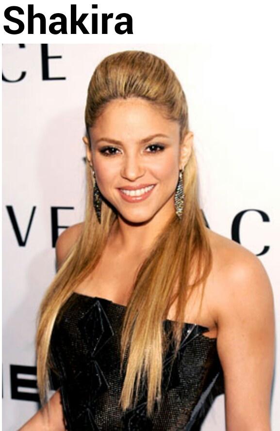 Shakira hair!