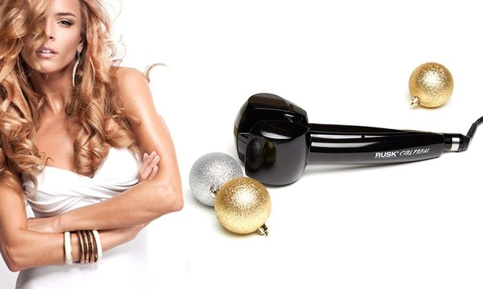 for when my hair grows out... Rusk Curl Freak Professional Hair Curling Machine