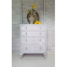 Hand Painted Vintage Drawers