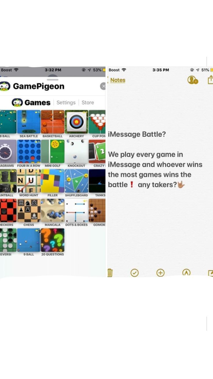 Imessage Games Post Challenge ; Imessage Games Post in ...