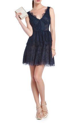 CARBON Blue Evening - Willa Lace Cocktail Dress