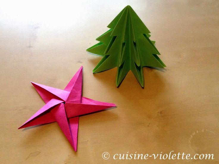 trchen origami von cuisine violette - Couisin En Bois Ehter