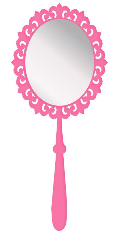 princess mirror clipart - photo #7
