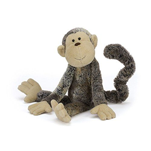 Size: 17 inches tall Suitable from birth Made of polyester, plastic pellets/eyes