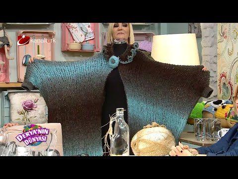 Kolay panço yapımı , Kek fanusu boyama ve Artan çiçek beresi ...deryanın dünyası - YouTube