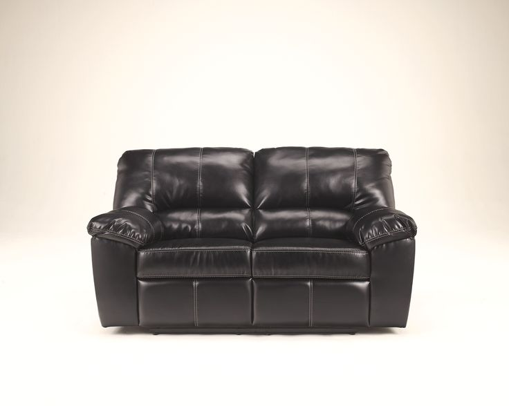 Ashley Fort Logan DuraBlend 4540074 Signature Design Power Reclining  Loveseat   The Rich Contemporary Design Of