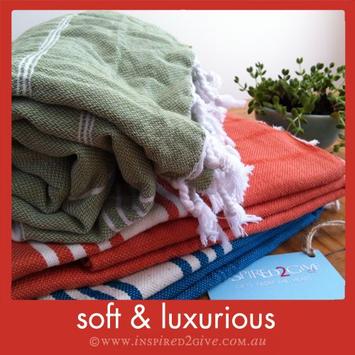 Soft and Luxurious cotton turkish towels