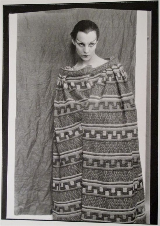 Man Ray – Genica Athanasiou aka Eugénie Tanase, Paris, 1921 (first lover of Antonin Artaud)