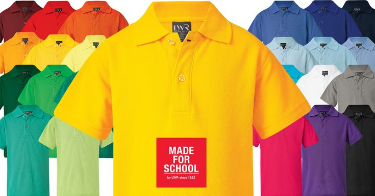Don't let the grey weather get to you, brighten your winter with one of our Higgins Polo Shirts, available in 25 colours.