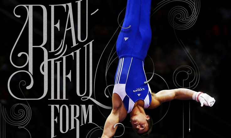 The Beautiful Form :: Artistic Gymnastic is what it is. Artistic lettering is all it's about.