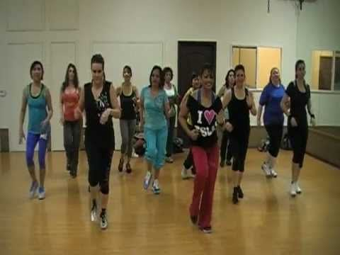 """Great bachata routine for #zumba class by Fit Squad LA. Song: """"Promise"""" by Romeo Santos Feat. Usher"""