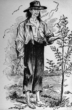 He's legend now, but Johnny Appleseed was as odd as his myth. Click the image for more info, then go eat an Apple.