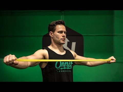 Rotator Cuff Rehab - Shoulder Rehab Resistance Training Using Exercise Bands - YouTube