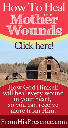 How to heal from mother wounds | inner healing | meaning of El Shaddai | How God will perform the function of a mother for you, and will heal your heart!