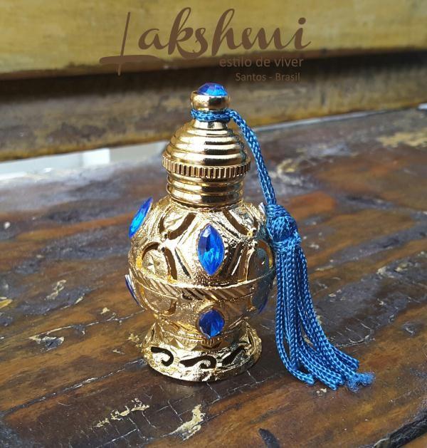 Óleo essencial de sândalo - embalagem luxo - azul