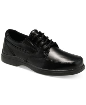 Hush Puppies Boys' or Little Boys' Dress Shoes - Black 12.5 W Youth