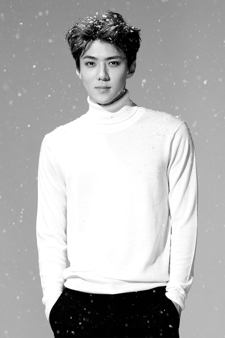 Sehun's teaser image for EXO's 2015 winter album, Sing For You.