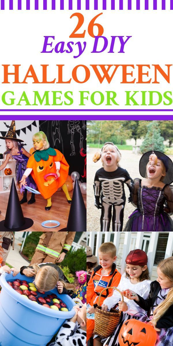 Halloween Games for Kids! 26 Easy & Fun Party Games