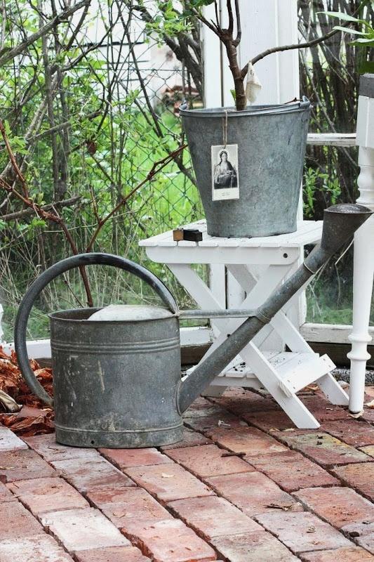 Galvanized Steel, Gardening Tools, Watering Cans, Beautiful Things, Buckets,  Enamel, Goodies