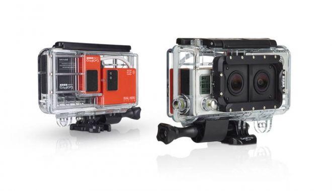 Dual Hero graba en 3D con tu cámara GoPro http://buenespacio.es/dual-hero-graba-en-3d-con-tu-camara-gopro.html #camara #gopro #3d #carcasa