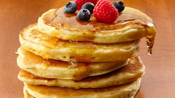 These melt in your mouth pancakes are good to the last bite. Substitute orange-almond coconut oil for the vegetable oil and buttermilk fir the milk. Add extra 1/4 or so water to get batter to correct consistency and OHHHH MYYYYY GEEEESH!!!! DEELEEESHH!!