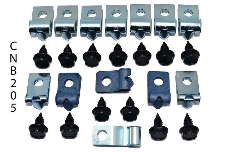 69 Chevrolet Nova X Body Brake Line tube Clips clamp bracket kit Set NOS CNB205