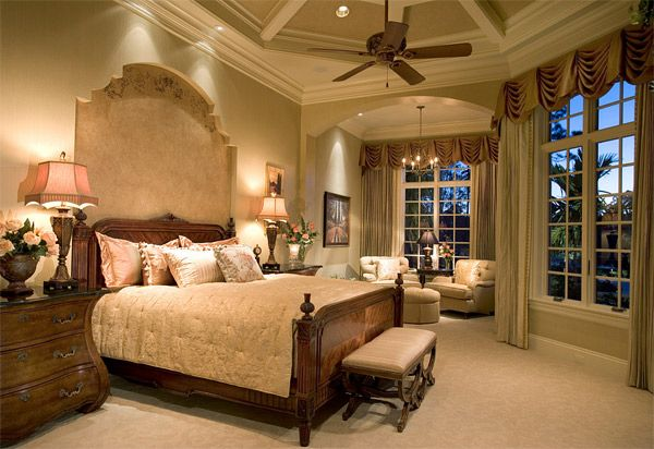 20 Luxurious Design of Mediterranean Bedroom | Home Design Lover