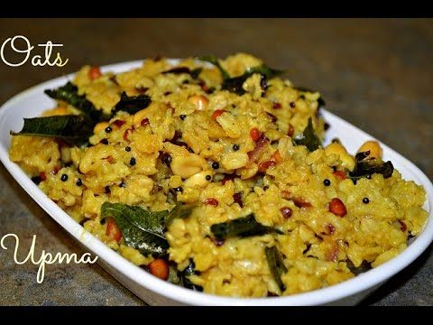 Oats Upma | healthy breakfast Idea Healthy Oats snacks | Quick Oats Appetizer | Innovative oat recipe collection | Easy and Quick Oats recipes - YouTube