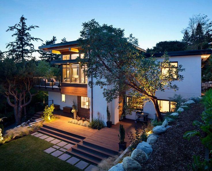 contemporary home in Vancouver, Canada 1