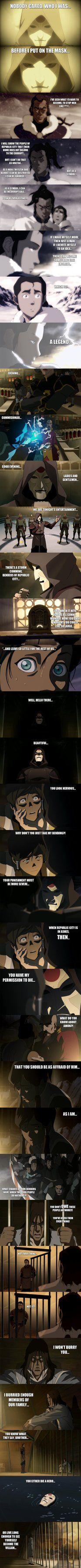Legend of Korra - Amon rises... by yourparodies.deviantart.com on @DeviantArt