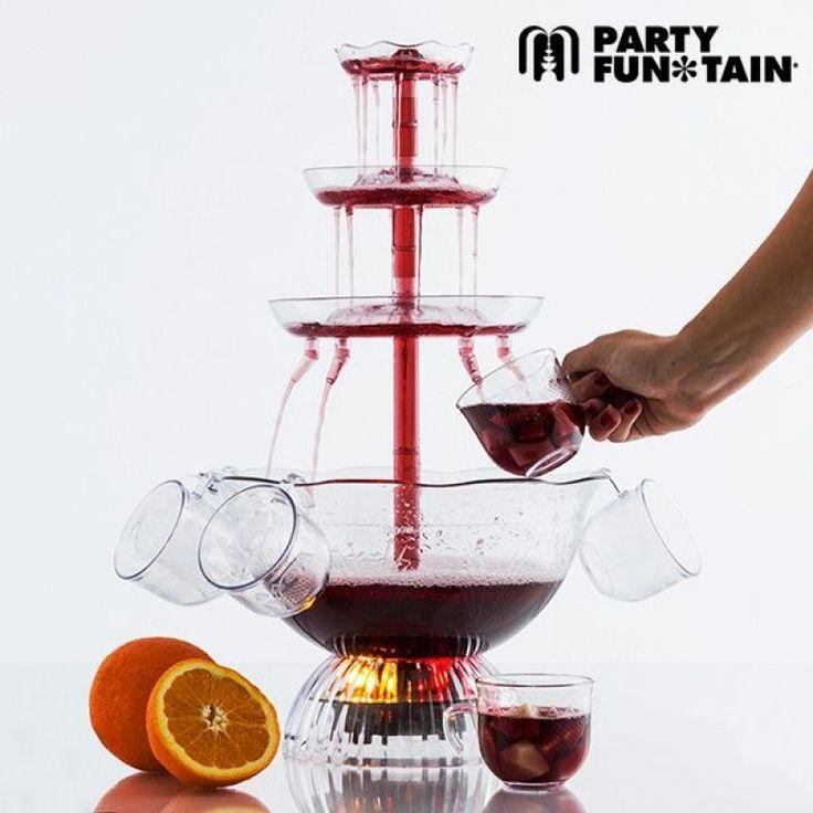 Οι καλεσμένοι σας θα εντυπωσιαστούν με αυτό το απίστευτο συντριβάνι για ποτά! Το Party Fun Tain θα εκπλήξει τους συγγενείς και τους φίλους σας δίνοντας στις πιο σημαντικές εκδηλώσεις σας μία ιδιαίτερη, γκλάμουρ πινελιά. Επιπλέον, ο φωτισμός LED της βάσης