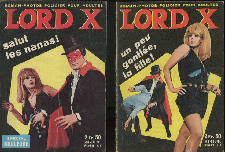 Lord X Une publication Bel-Air de 1968