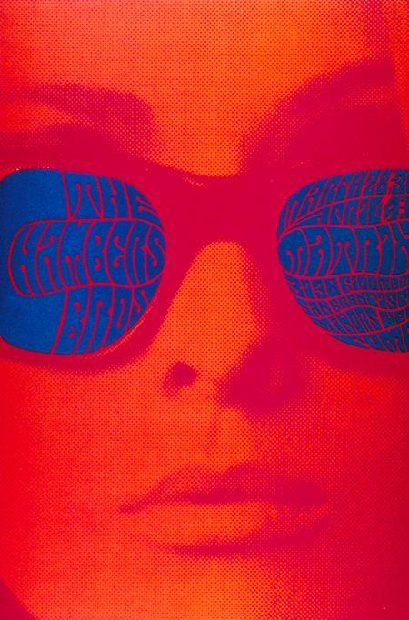 Victor Moscoso, 1967, San Francisco Dance Concert Poster (Beaumont Leys ain't San Francisco but - acid is acid...)