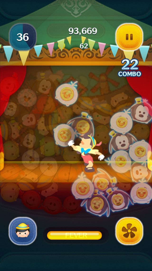 New tsum Pinnochio added to international tsum tsum app! This is his skill when activated.
