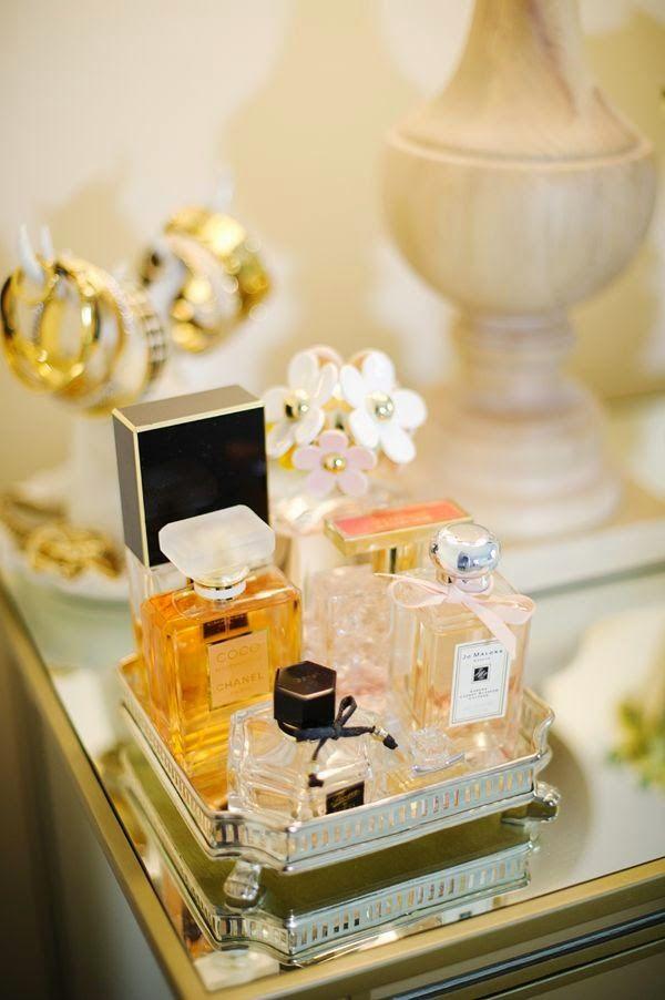 Como organizar perfumes