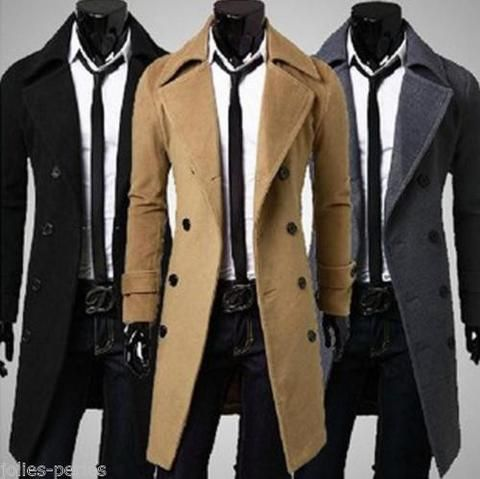 Top 25  best Long trench coat mens ideas on Pinterest | Trench ...