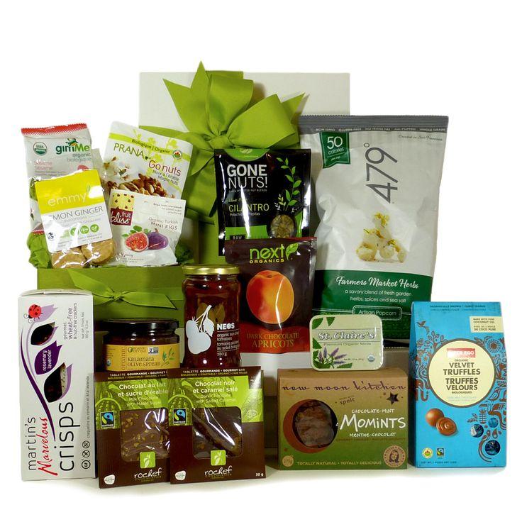 Sweet And Savoury Organic Gift Basket - XL.