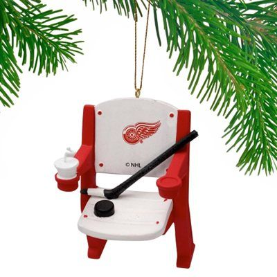 Detroit Red Wings Stadium Chair Ornament