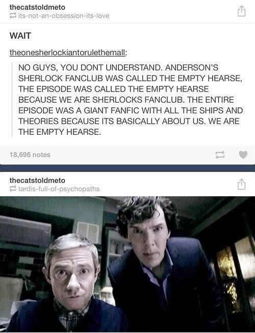 """Especially when that girl said the theory was """"just as plausible as any of yours"""" to Anderson.<--- Yepp. I knew this. XD"""