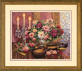 Романтические цветы, оригинал
