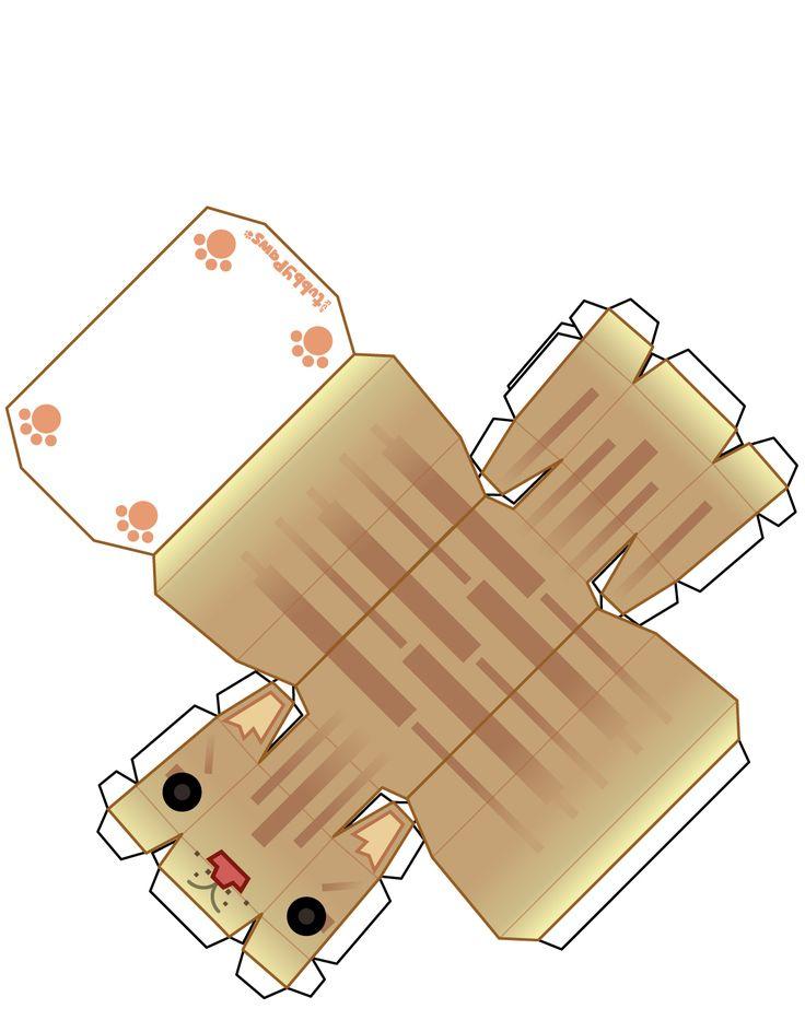 Cat Paper craft
