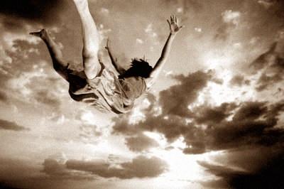 ... sometimes, when you fall, you fly.  ~Neil Gaiman~