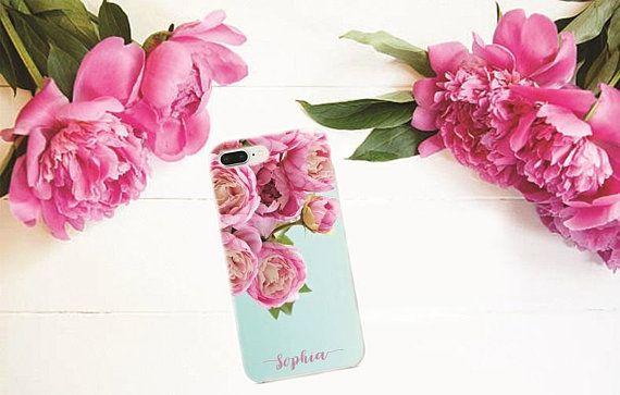 Peonies iPhone case #peonies #iphone #samsung #case #iphonecase #personalized #custom #flowers