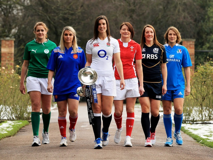 Six Nations launch  Women's captains