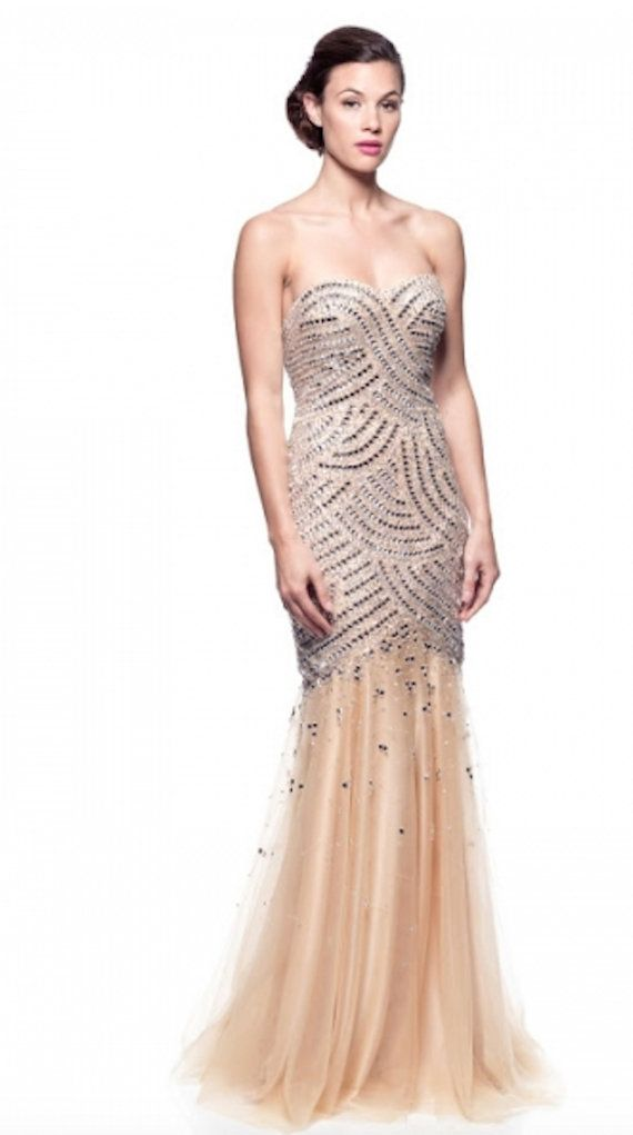 1345 best gold and rose gold for wedding and prom images for Gold beaded wedding dress