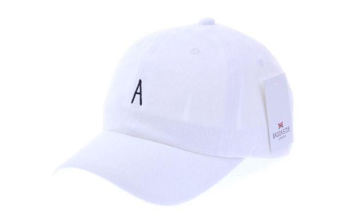 A Logo White Ball Cap - Baseball Cap / Casual Cap / Couple Cap / Student Cap #Unbranded #Simple