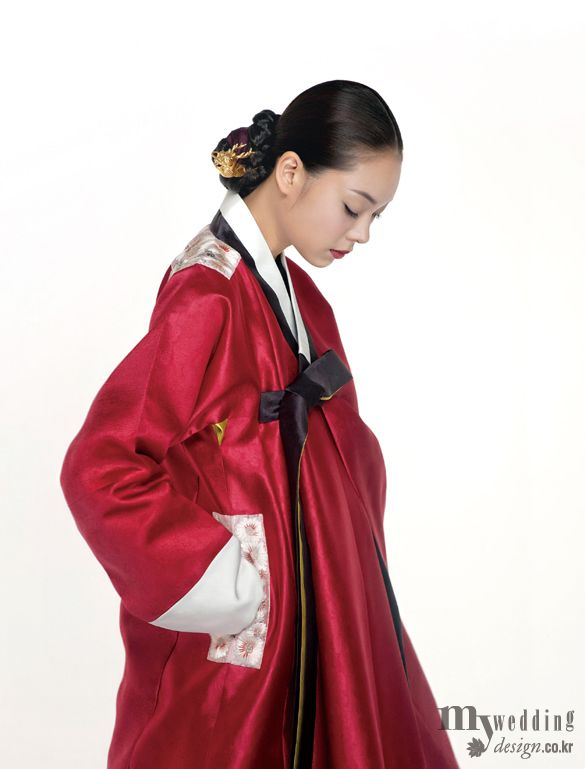 Hanbok, korean traditional clothes / My wedding / 신부, 하얀 겨울 빛에 머물다 / 한복 린